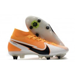 New Nike Mercurial Superfly VII Elite SG-PRO Laser Orange Black White