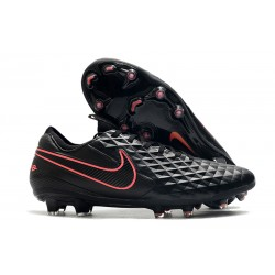 Nike Tiempo Legend VIII Elite FG K-Leather Black Pink