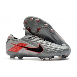 Nike Tiempo Legend VIII Elite FG K-Leather Grey Black Red