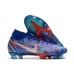 Nike Mercurial Superfly 7 Elite FG Sancho SE11 Blue White Red