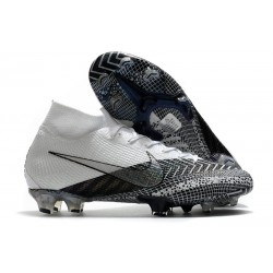 Nike Mercurial Superfly VII Elite FG MDS Dream Speed 3 White Black