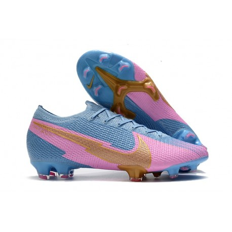 Nike Mercurial Vapor 13 Elite FG - Blue Pink Gold