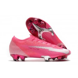 Nike Mercurial Vapor 13 Elite FG X Mbappe Pink Blast White Black