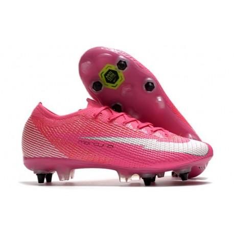 Nike Mercurial Vapor 13 Elite SG Pro X Mbappe Pink Blast White Black