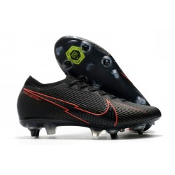 Nike Mercurial Vapor 13 Elite Ac SG Pro Black Red