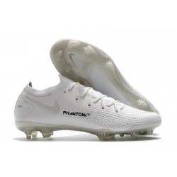 Nike Phantom GT Elite FG Mens Soccer Cleat White