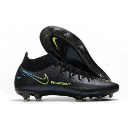 Nike Phantom GT Elite DF FG Soccer Shoes Black Volt