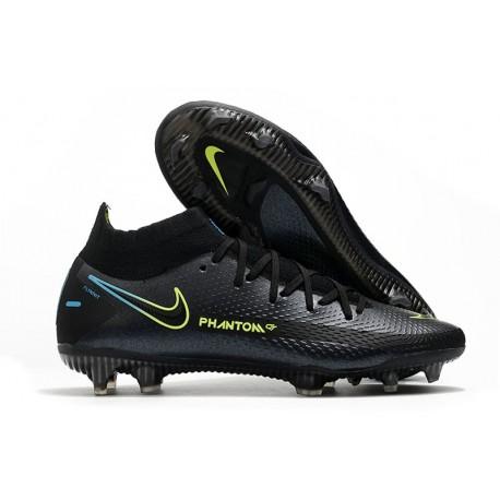Nike Phantom GT Elite DF FG Soccer Shoes Black Volt