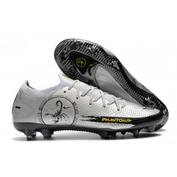 Nike Phantom GT Elite SE FG Soccer Cleat Scorpion Silver Black