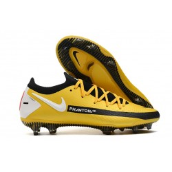 Nike Phantom GT Elite FG Firm Ground Shoes Yellow Black White