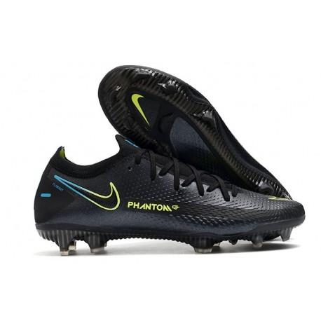 Nike Phantom GT Elite FG Firm Ground Shoes Black Volt