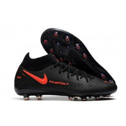 Nike Phantom GT Elite Dynamic Fit AG-PRO Black ChiliRed SmokeGrey