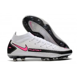 Nike Phantom GT Elite Dynamic Fit AG Artificial-Grass White Pink Black