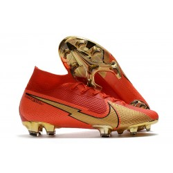 Nike Mercurial Superfly 7 Elite Dynamic Fit FG CR100 Red Golden