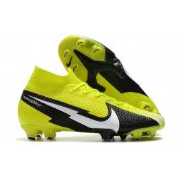 Nike Mercurial Superfly 7 Elite Dynamic Fit FG Yellow Black White
