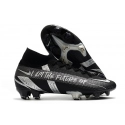 Nike Mercurial Superfly 7 Elite Dynamic Fit FG Black Silver