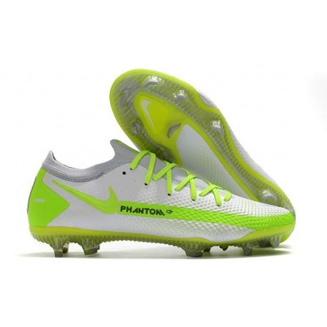 Nike Phantom GT Elite FG Firm Ground Shoes White Volt