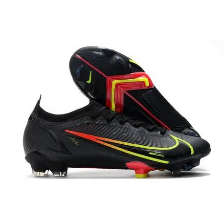 Nike Mercurial Vapor XIV Elite FG Soccer Cleats Black Cyber Off Noir