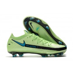 Nike Phantom GT Elite FG Impulse - Lime Glow Aquamarine