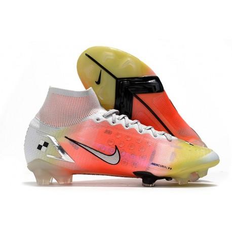 Nike Mercurial Superfly VIII Elite FG Dream Speed 4 White Bright Mango