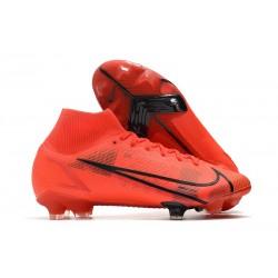 Nike Mercurial Superfly 8 Elite DF FG Red Black