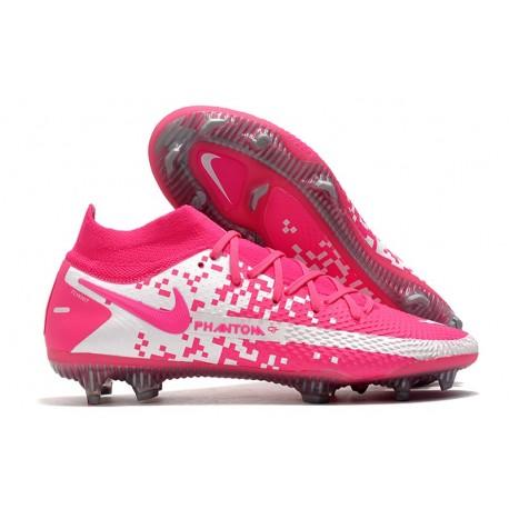 New Nike Phantom GT Elite DF FG Pink White