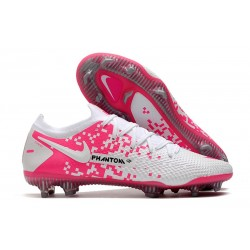 News Nike Phantom GT Elite FG White Pink