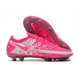 News Nike Phantom GT Elite FG Pink White