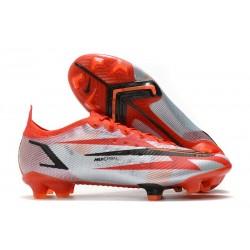 Nike Mercurial Vapor XIV Elite FG Soccer Cleats Chile Red Black White Total Orange