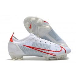 Nike Mercurial Vapor XIV Elite FG Soccer Cleats White Red