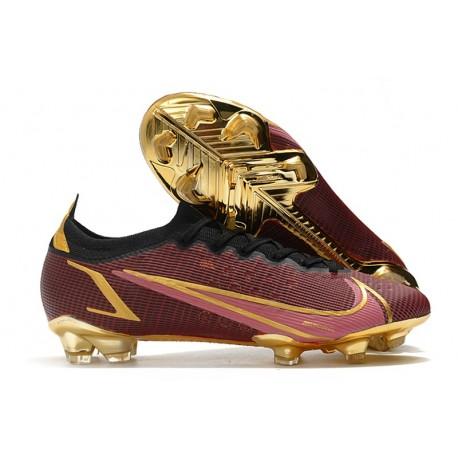 Nike Mercurial Vapor 14 Elite FG Red Golden