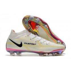 Nike Phantom GT2 Elite DF FG White Black Bright Crimson Pink Blast